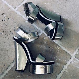 Giuseppe Zanotti Design Chunky Heel Platforms